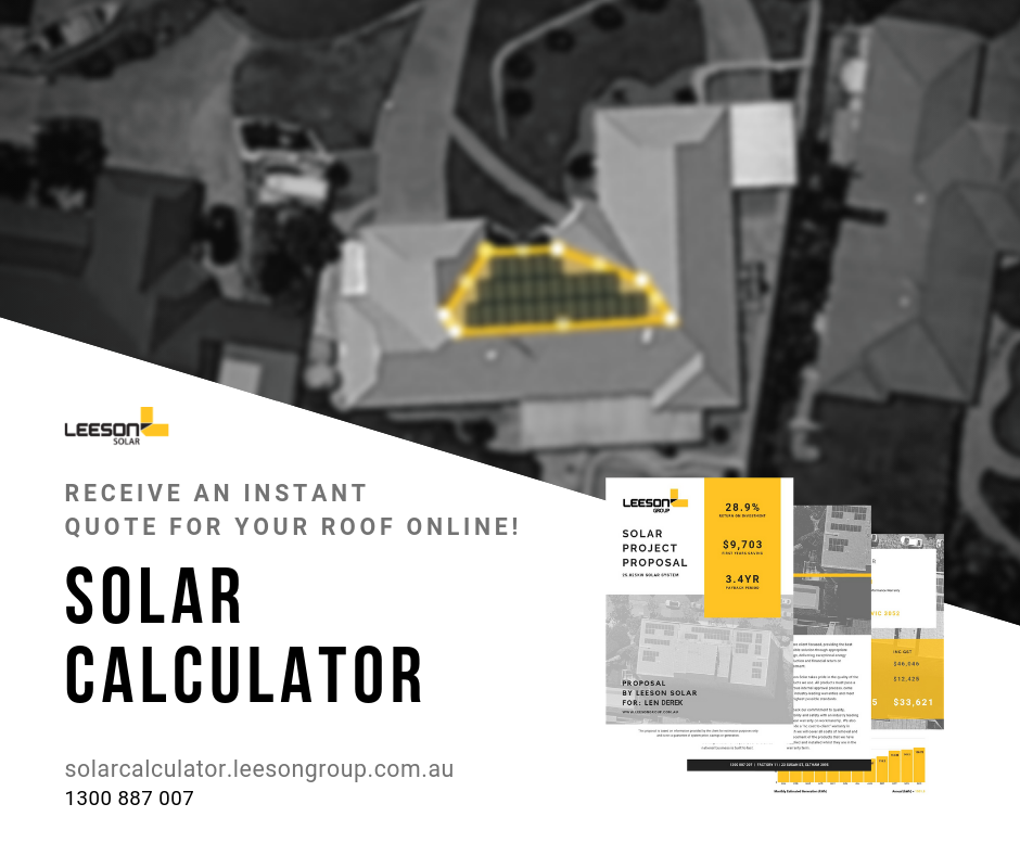 Leeson Solar | Solar Power Calculator | Solar Calculator